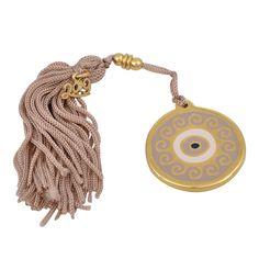 Γούρι μάτι κυκλικό με φούντα - Γουρια 2019 | Zoulovits® Christmas Crafts, Xmas, Soap Making, Crochet Earrings, Diy, Jewelry, Handmade Christmas Crafts, Yule, Do It Yourself