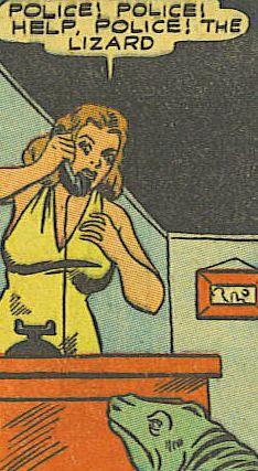 The Lizard, Lightning Comics, 1942 retro vintage comic book pop art Comics Vintage, Old Comics, Vintage Comic Books, Comics Girls, Comic Books Art, Funny Comics, Comic Art, Book Art, Vintage Posters