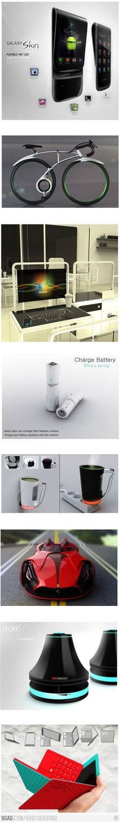 very cool gadgets.
