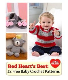 12 Crochet Patterns