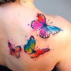 Butterfly Tattoos for Women on The Shoulder Tattoo Idea