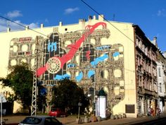 Łódzki mural pięęękny