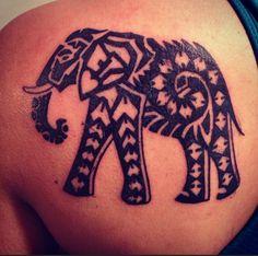 my elephant tattoo