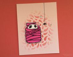 Stampin' Up! Ultimate Pink Blog Hop 2016 • Jar of Haunts stamp set, Jar of Love stamp set, Seasonal Decorative Masks • Handmade by Jason Loucks – JasonLoucks.net • Images © Jason Loucks