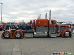 Custom Peterbilt 379 From The 2008 Mid America Truck Show By Eileen