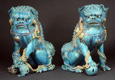 Buddhist Lions, Ming Dynasty