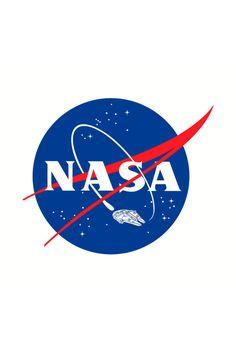 NASA Falcon T-Shirt #millenniumfalcon #starwars #nasa