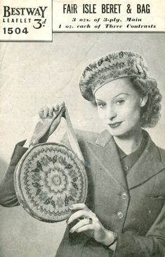 Patterns on Pinterest | Vintage Knitting, Knitting Patterns and 1940s