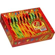 Jelly Belly Candy Canes 12 Pieces: 3 Count
