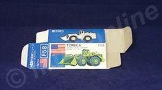TOMICA F58 TELEX 72-81 LOADER | 1/137 | ORIGINAL BOX ONLY | 1980 - 1986