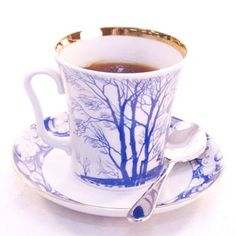 russian tea cup and saucer | Russian Tea