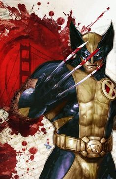 can't wait for the new wolverine movie to come out. here's to hoping it stays true to canon. Cover 1 for for Wolverine Manifest Destiny by Dave_Wilkins Marvel Wolverine, Logan Wolverine, Marvel Comics Art, Marvel Dc Comics, Marvel Heroes, Wolverine Images, Wolverine Movie, Comic Book Characters, Comic Book Heroes