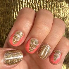 Gold Coral Glitter (by Trina Martirez)