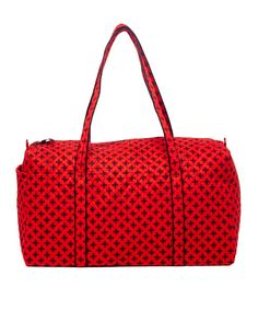 81efa0d9dfe Take a look at this Red   Black Mini Concerto Large Duffel Bag today! Vera