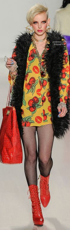 Fall 2014 Ready-to-Wear Betsey Johnson | LBV ♥✤ | KeepSmiling | BeStayBeautiful