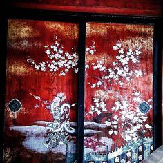 "65 Likes, 2 Comments - かなぶん5号 (@kanaick31) on Instagram: ""#仁和寺 #襖 #京都 #日本 #amazing #beautiful #wonderful #art #old #temple #trip #photo #instagram #camera…"""
