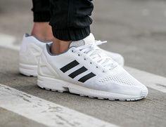 Adidas ZX Flux EM White Black Granite