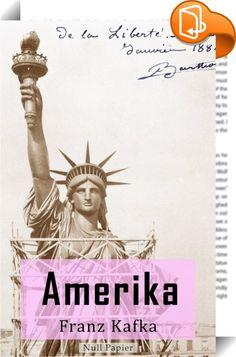 """Amerika    ::  Der Roman schildert die Erlebnisse des jungen Karl Roßmann in den USA. Er wird von seinen Eltern nach New York geschickt, da er von einem Dienstmädchen """"verführt"""" wurde und dieses geschwängert hat. Karl muss sich in einem fremden Land allein zurechtfinden. Getreu Kafkas Lieblingsthema ist sein Protagonist auch hier Geschicken ausgesetzt, die scheinbar nur vom Zufall bestimmt sind. Karl driftet wie ein Verstoßener von Ort zu Ort und wird von allen Menschen enttäuscht. Der..."""