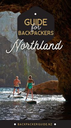Northland Guide for Backpackers - NZ Pocket Guide New Zealand Travel Guide New Zealand Travel Guide, Bay Of Islands, Parasailing, Beach Holiday, Future Travel, Sandy Beaches, Travel Information, Backpacking, Camping