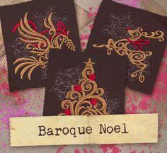 Baroque Noel (Design Pack) design (UTP1195) from UrbanThreads.com