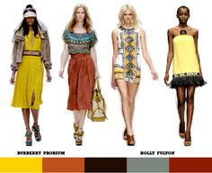 african style trends | ... Stitches: Spring/Summer 2012 Key Womenswear Trends: African Tribal