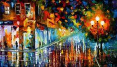 WASHED BOULEVARD - PALETTE KNIFE Oil Painting On Canvas By Leonid Afremov http://afremov.com/WASHED-BOULEVARD-PALETTE-KNIFE-Oil-Painting-On-Canvas-By-Leonid-Afremov-Size-20-x36.html?utm_source=s-pinterest&utm_medium=/afremov_usa&utm_campaign=ADD-YOUR
