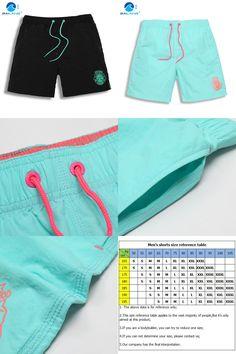 [Visit to Buy] shorts men Nylon Board shorts gym running bodybuilding shorts jogger surf beach mens sport fitness shorts boardshorts gailang A6 #Advertisement