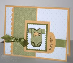 Jill's Card Creations: Welcome Baby