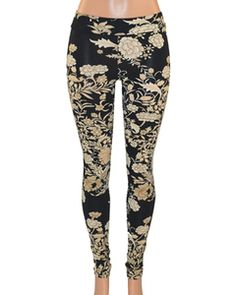 Seekers of Style Floral Bomb Leggings