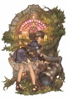 tree of savior - concept art - cleric