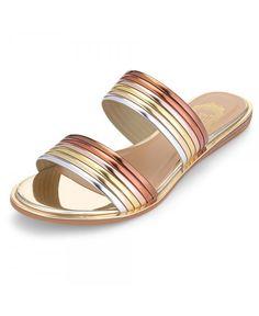 Buy Stylish Open Toe Flat Heel PU Slippers Women Shoes - Gold - 3674632912 online, fidn many other Women's Slippers Cute Shoes Flats, Casual Shoes, Shoes Sandals, Women's Casual, Flat Shoes, Open Toe Flats, Luxury Shoes, Women's Slippers, Comfortable Shoes