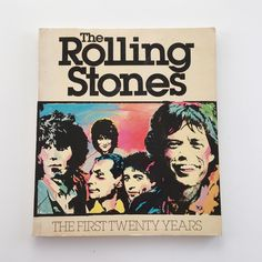 A personal favorite from my Etsy shop https://www.etsy.com/listing/552809426/rolling-stones-the-first-20-years-book
