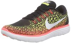 92015b5fd11bc Nike Womens Free Rn Distance Black White Volt Hot Lava Running Shoe 7 Women  US    To view further for this item