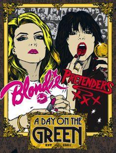Blondie and the Pretenders