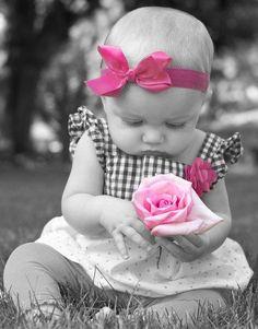 ►Niña rosa