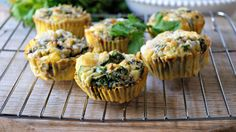 Egg Muffins with Hatch Green Chilies - The Sprouting Seed