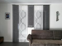 Hello, I am selling self-made curtains! Sliding Curtains, No Sew Curtains, Curtains With Blinds, Modern Window Design, Bedroom Divider, Master Bedroom Interior, Shades Blinds, Cozy House, Apartments