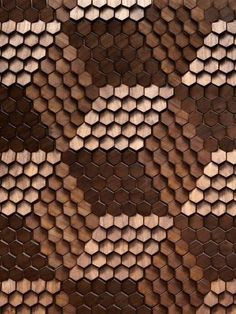 Timber Alexander by Giles Miller Studio Giles Miller Surface Design: Using Texture and Reflection as a Means of Illustration Wood Patterns, Textures Patterns, Print Patterns, Hexagon Tiles, Hexagon Quilt, Texture Design, Wood Texture, Retail Design, Textured Walls