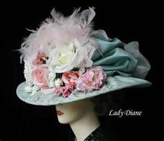 Victorian Hats, Derby Hats, Fashion Hats - Lady Diane Hats