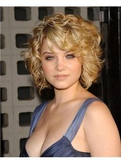 Gorgeous Short Blonde Female Wavy Vogue Wigs 10 Inch : fairywigs.com