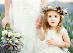 Adorable Flower Girl Wreath
