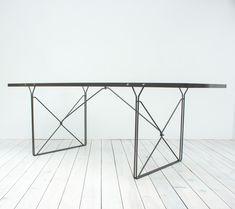 Mesa de comedor Moment de vidrio de Niels Gammelgaard para Ikea, 1987, Imagen 9