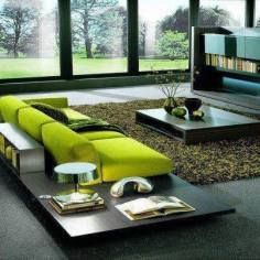 coffee and side tables,green,living room,modern,sofas and sectionals