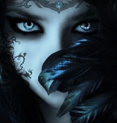 The Feyre try to be as close to insects and birds as possible, often sporting feathers as hair and clothing, along with tattooed runes and spirals.