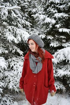 Style Gallery | ModCloth's Fashion Community #snow #red
