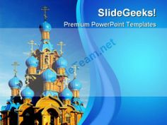 Wooden Church Religion PowerPoint Templates And PowerPoint Backgrounds 0611 #PowerPoint #Templates #Themes #Background