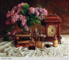 By Artist Painter Antonio Capel