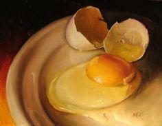 Hyper realistic painter Mary Ellen Johnson