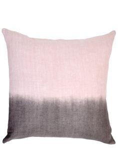 Ombre linen pillows for the sofa.  #fifthwallfriday #ceilume #ceiling #interior #design #diy #livingroom