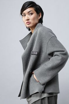 Order our Jacket Honey from our OSKA Autumn/Winter 2014 collection today Plus Size Business, German Fashion, Sweater Coats, Stay Warm, Capsule Wardrobe, Knitwear, Pullover, Athleisure, Womens Fashion